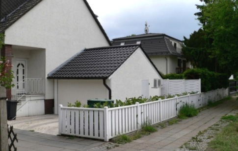 Fertiggarage mit dach